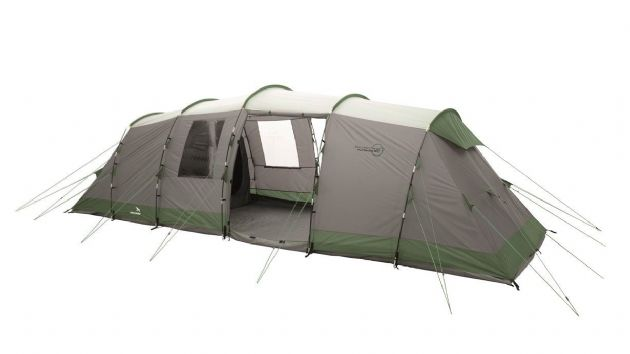 Easy Camp Huntsville 800 Family Camping Tent, Outdoor Camping Equipment - Grasshopper Leisure